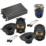 Compatible with Oldsmobile Alero 2001-2004 OEM Speaker Replacement Harmony Speakers & CXA360....