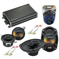 Compatible with Oldsmobile Cutlass Calais 1985-1991 OEM Speaker Replacement Harmony & CXA360....