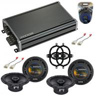 Compatible with Toyota Highlander 2006-2007 OEM Speaker Replacement Harmony (2) R65 & CXA360....