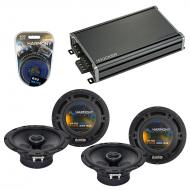 Compatible with Toyota MR2 Spyder 2000-2003 OEM Speaker Replacement Harmony (2) R65 & CXA360....