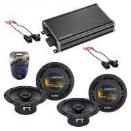 Compatible with Chevy Trailblazer 2002-2009 OEM Speaker Replacement Harmony (2) R65 & CXA360....