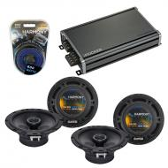 Compatible with Volkswagen Cabrio 1995-2002 OEM Speaker Replacement Harmony (2) R65 & CXA360....