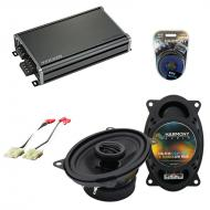Compatible with Chevy Van (Full Size) 1986-1987 OEM Speaker Replacement Harmony R46 & CXA360....