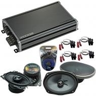 Compatible with Chevy Lumina 1990-1994 Factory Speakers Replacement Harmony C46 C69 & CXA360.4