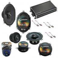Compatible with Ford Mustang 1986-1993 Factory Replacement Harmony Premium Speakers & CXA360.4