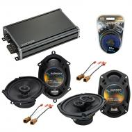 Compatible with Nissan Altima 1993-1997 OEM Speaker Replacement Harmony R68 R69 & CXA360.4 Amp