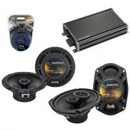 Compatible with Nissan Armada 2004-2015 OEM Speaker Replacement Harmony R69 R65 & CXA360.4 Amp