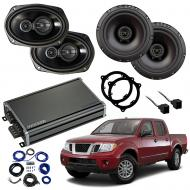 Compatible with Nissan Frontier 2014-2019 Factory Speaker Replacement Package R65 R69 CXA360.4