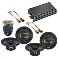 Compatible with Nissan Pathfinder 2001-2004 Speaker Replacement Harmony (2) R65 & CXA360.4 Amp