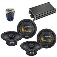Compatible with Nissan Sentra 2000-2006 Factory Speaker Replacement Harmony (2) R65 & CXA360.4