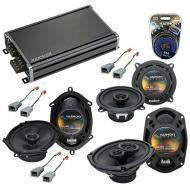 Compatible with Chrysler Voyager 2000-2003 OEM Speaker Replacement Harmony Speakers & CXA360....