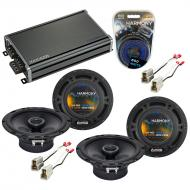 Compatible with Nissan Stanza 1990-1992 Factory Speaker Replacement Harmony (2) R65 & CXA360.4