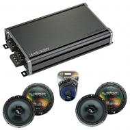 Compatible with Nissan Titan 2004-2007 Factory Speakers Replacement Harmony (2) C65 & CXA360.4
