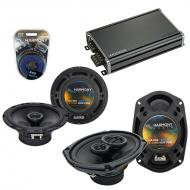 Compatible with Nissan Xterra 2005-2008 OEM Speaker Replacement Harmony R65 R69 & CXA360.4 Amp