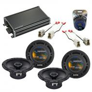 Compatible with Subaru Legacy 1990-1994 Factory Speaker Replacement Harmony (2) R65 & CXA360.4