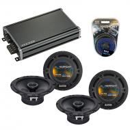 Compatible with Subaru Legacy 1995-2003 Factory Speaker Replacement Harmony (2) R65 & CXA360.4
