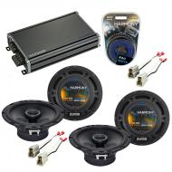 Compatible with Subaru Loyale 1990-1994 Factory Speaker Replacement Harmony (2) R65 & CXA360.4