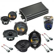 Compatible with Ford Thunderbird 1983-1988 OEM Speaker Replacement Harmony Speakers & CXA360....