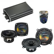 Compatible with BMW M6 1977-1989 Factory Speaker Replacement Harmony R4 R65 & CXA360.4 Amp