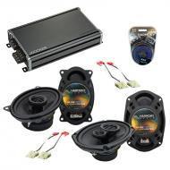 Compatible with Buick Century 1982-1996 OEM Speaker Replacement Harmony R46 R69 & CXA360.4 Amp