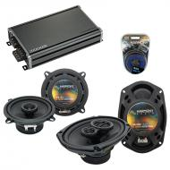 Compatible with Buick Le Sabre 2000-2005 OEM Speaker Replacement Harmony R5 R69 & CXA360.4 Amp