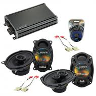 Compatible with Buick Riviera 1986-1995 OEM Speaker Replacement Harmony R46 R69 & CXA360.4 Amp
