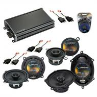 Compatible with Chrysler Laser 84-89 OEM Speaker Replacement Harmony R5 R35 R68 & CXA360.4 Amp