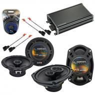 Compatible with Dodge Stratus 1995-2000 OEM Speaker Replacement Harmony R65 R69 & CXA360.4 Amp
