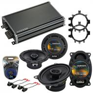 Compatible with GMC Sierra 1999-2006 OEM Speaker Replacement Harmony R5 R46 & CXA360.4 Amp