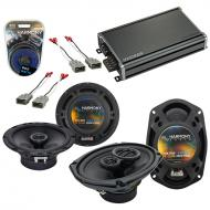 Compatible with Honda Prelude 1997-2001 OEM Speaker Replacement Harmony R65 R69 & CXA360.4 Amp
