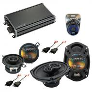 Compatible with Cadillac Cimarron 82-88 OEM Speaker Replacement Harmony R35 R69 & CXA360.4 Amp