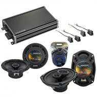 Compatible with Mitsubishi 3000GT 91-99 OEM Speaker Replacement Harmony R65 R69 & CXA360.4 Amp