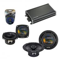 Compatible with Subaru Forster 1998-2004 OEM Speaker Replacement Harmony R65 R4 & CXA360.4 Amp