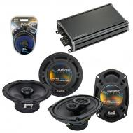 Compatible with Volvo 960 1992-1997 OEM Speaker Replacement Harmony R65 R69 & CXA360.4 Amp