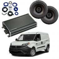 Compatible with Chevrolet City Express 2015-2018 Factory Speaker Replacement Package R65 CXA360.4