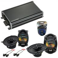 Compatible with Chevy Beretta 1991-1996 OEM Speaker Replacement Harmony R46 R69 & CXA360.4 Amp