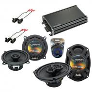 Compatible with Oldsmobile Intrigue 1998-2002 OEM Speaker Replacement Harmony Speakers & CXA3...