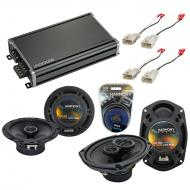 Compatible with Toyota Camry Solara 1999-2003 OEM Speaker Replacement Harmony Speakers & CXA3...