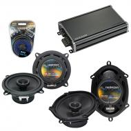 Compatible with Toyota Cressida: Luxury 85-87 OEM Speaker Replacement Harmony Speakers & CXA3...