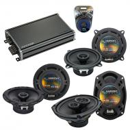 Compatible with Acura RL 1996-1998 Factory Speaker Replacement Harmony Replacement & CXA360.4...