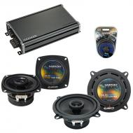 Compatible with Alfa Romeo 164 1990-1994 Factory Speaker Replacement Harmony R4 R5 & CXA360.4...