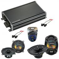 Compatible with Buick Century 1997-2005 Factory Speaker Replacement Harmony R5 R69 & CXA360.4...