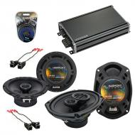 Compatible with Chevy Impala 2000-2016 Factory Speaker Replacement Harmony R65 R69 & CXA360.4...