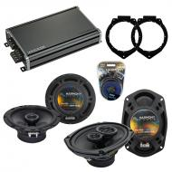 Compatible with Chevy Malibu 2008-2012 Factory Speaker Replacement Harmony R65 R69 & CXA360.4...