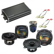 Compatible with Chevy Nova 1985-1988 Factory Speaker Replacement Harmony R4 R5 & CXA360.4 Amp