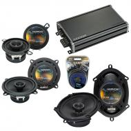 Compatible with Dodge Aries 1984-1989 Factory Speaker Replacement Harmony Speakers & CXA360.4...