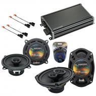 Compatible with Dodge Caravan 2001-2001 Factory Speaker Replacement Harmony R5 R69 & CXA360.4...