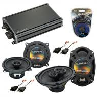 Compatible with Dodge Charger 1984-1987 Factory Speaker Replacement Harmony R5 R69 & CXA360.4...