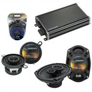 Compatible with Dodge Mirada 1983-1983 Factory Speaker Replacement Harmony R35 R69 & CXA360.4...