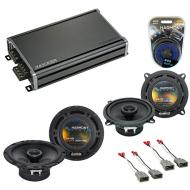 Compatible with Honda CRX 1986-1987 Factory Speaker Replacement Harmony R5 R65 & CXA360.4 Amp